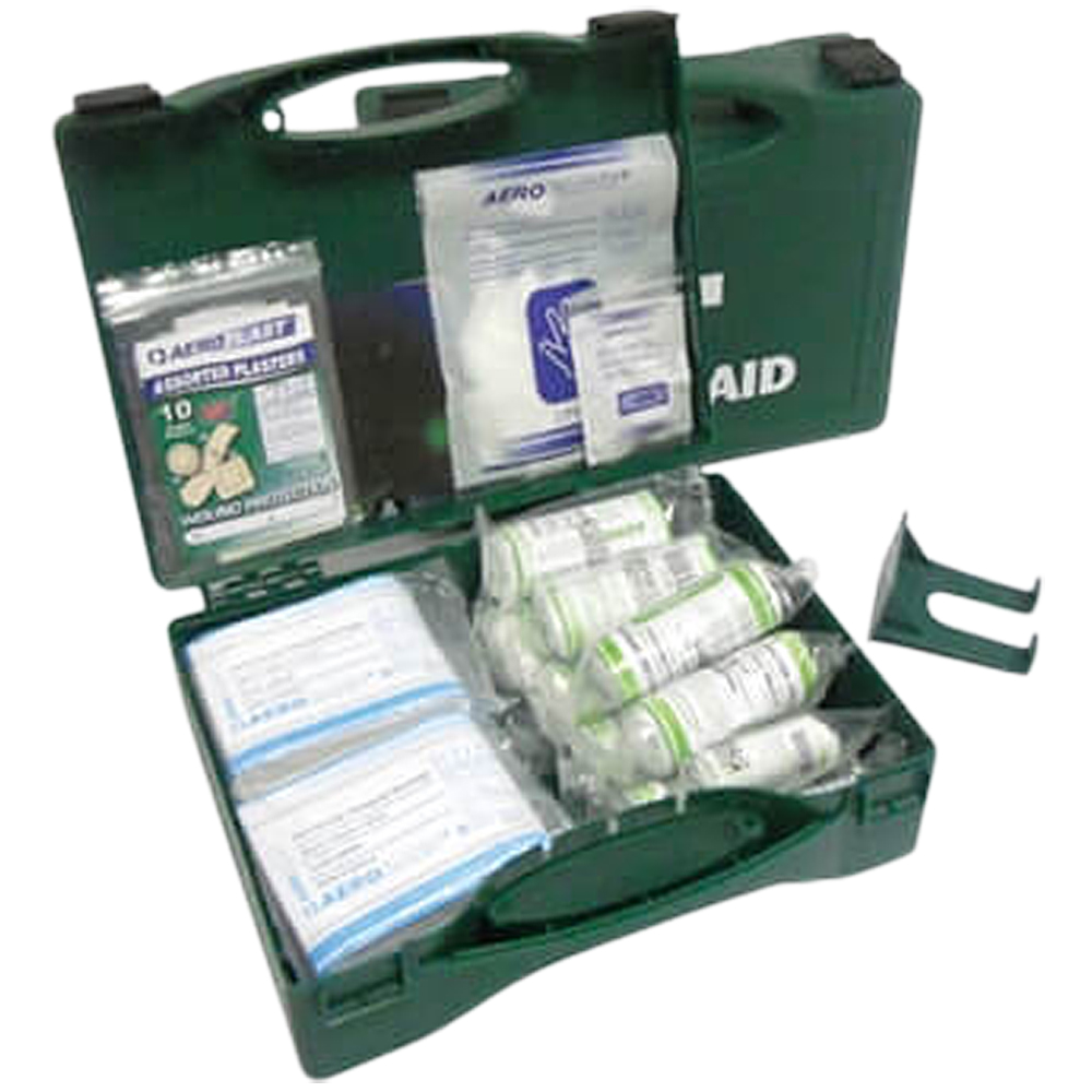 HSE 1-10 Person First Aid Kit (with Wall Bracket)