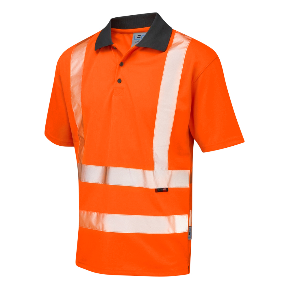 Coolviz Polo Shirt Orange