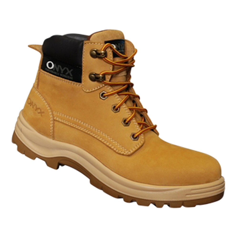 7718b016e66 Onyx Nubuck Safety Boot - SAFPRO