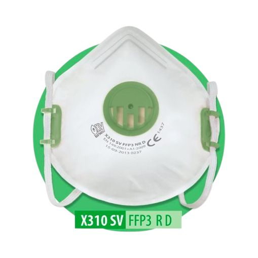 P3 Valved Disposable Mask (Box 10)
