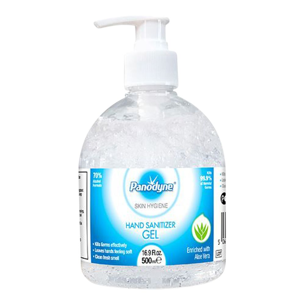 Panodyne Pump-Top Hand Sanitiser Gel (500ML)