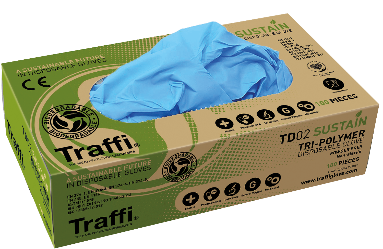 Traffi Sustain Disposable Glove (Box 100)