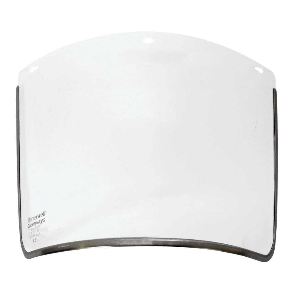 Clear Polycarbonate Clearways Visor (200mm)