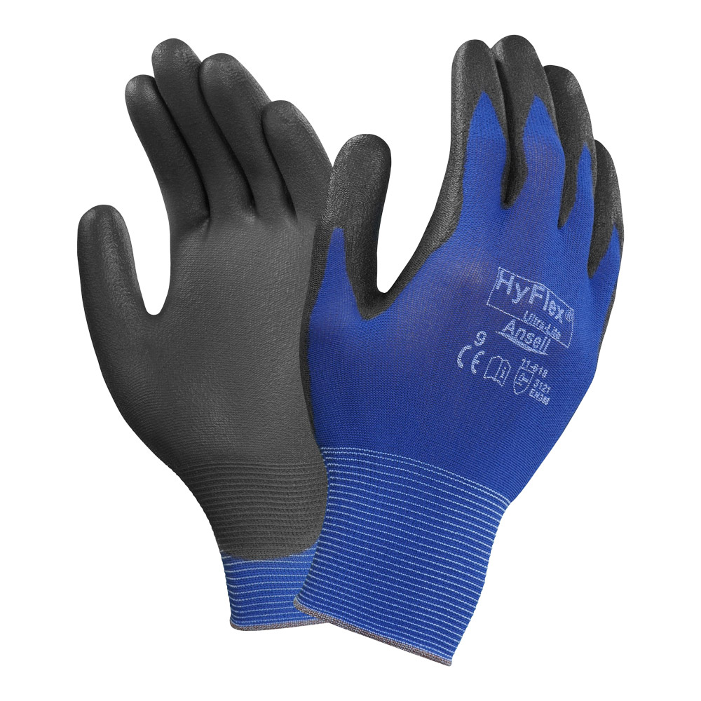 Ansell Ultralight Hyflex Palm PU Coated Glove