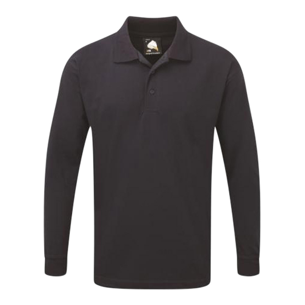 Weaver Premium Long Sleeve Poloshirt