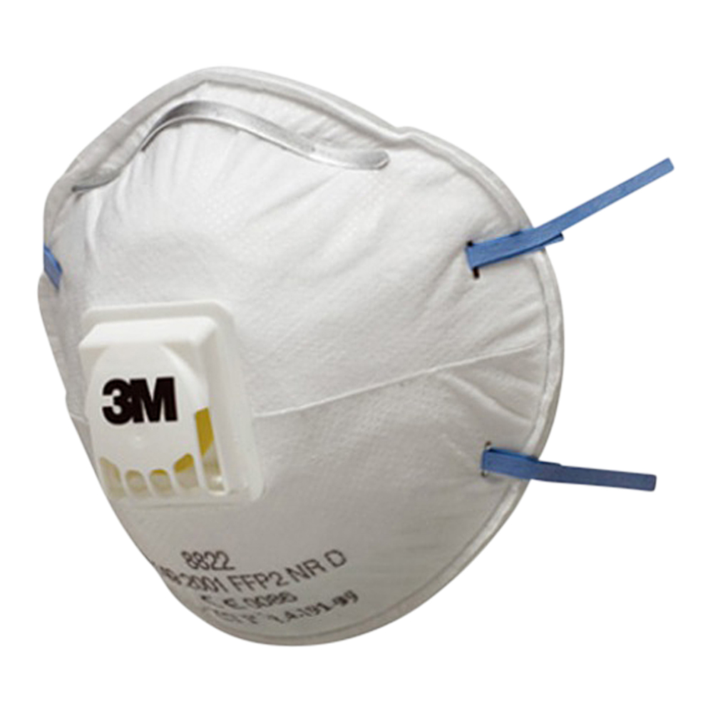 3M FFP2 Valved Mask (Box Of 10)