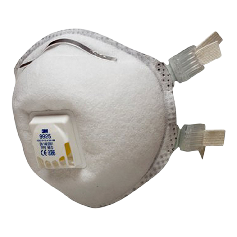 3M P2 Welding Fume Mask – Valved (Box Of 10)
