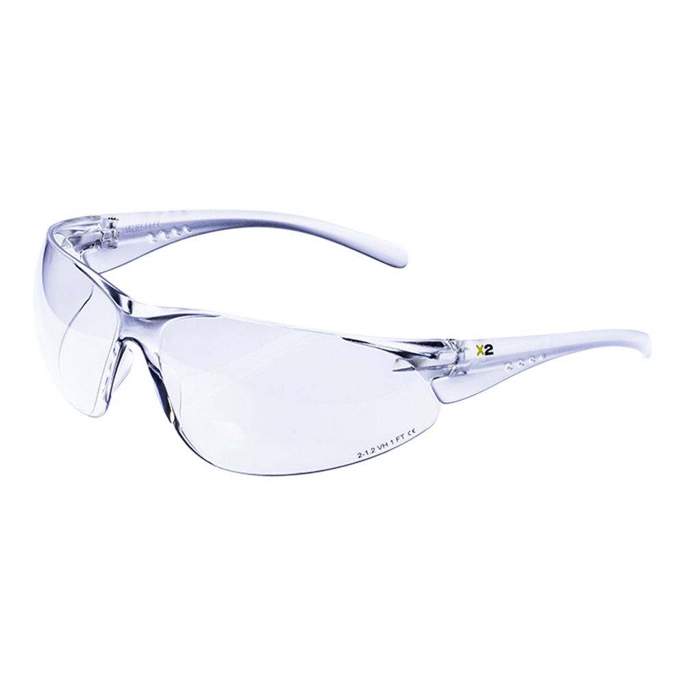 X2 Xcel Clear Safety Spectacles