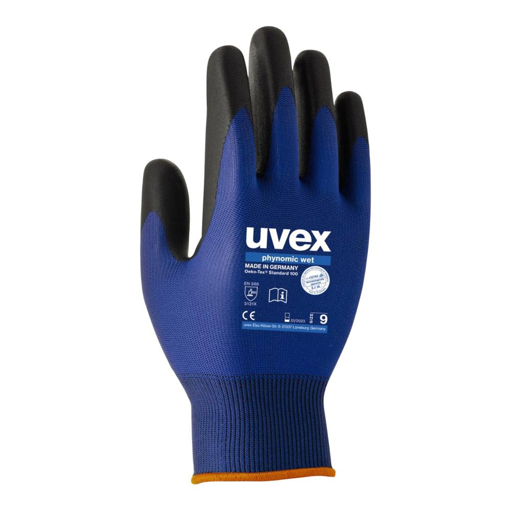 Uvex Phynomic Wet Safety Glove