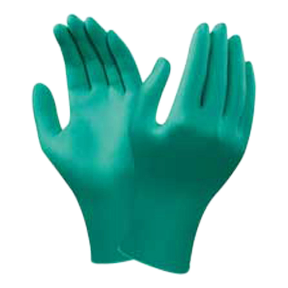 Ansell TouchNTuff Powder-Free Nitrile Disposable Gloves (Box Of 100)