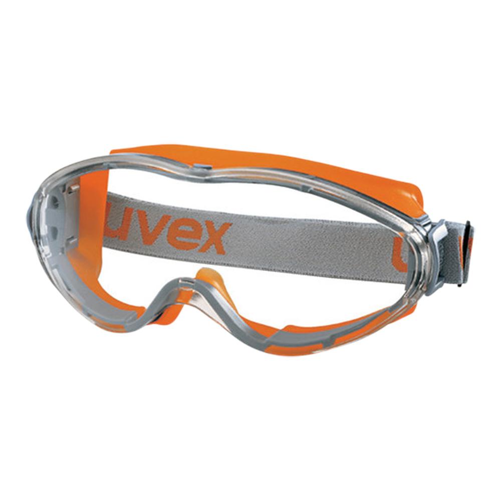 Uvex Ultrasonic Safety Goggles (Orange/Grey)