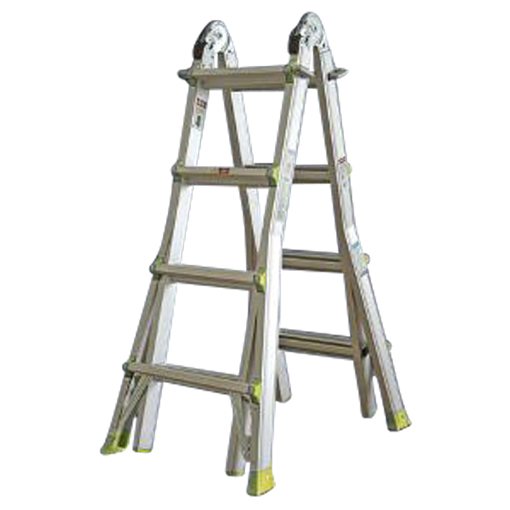 Aluminium Telescopic Combination Stepladder 4 Tread (2.1m)