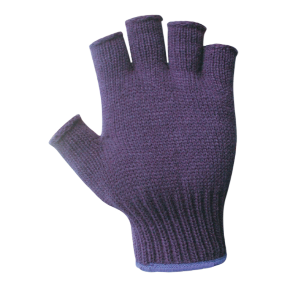 Acrylic Half Fingered Glove (One Size)