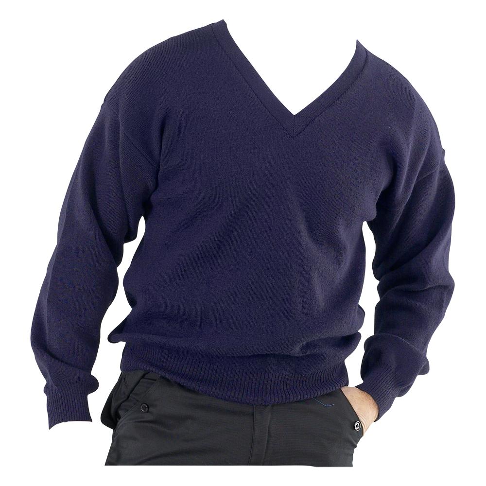 Acrylic V Neck Pullover