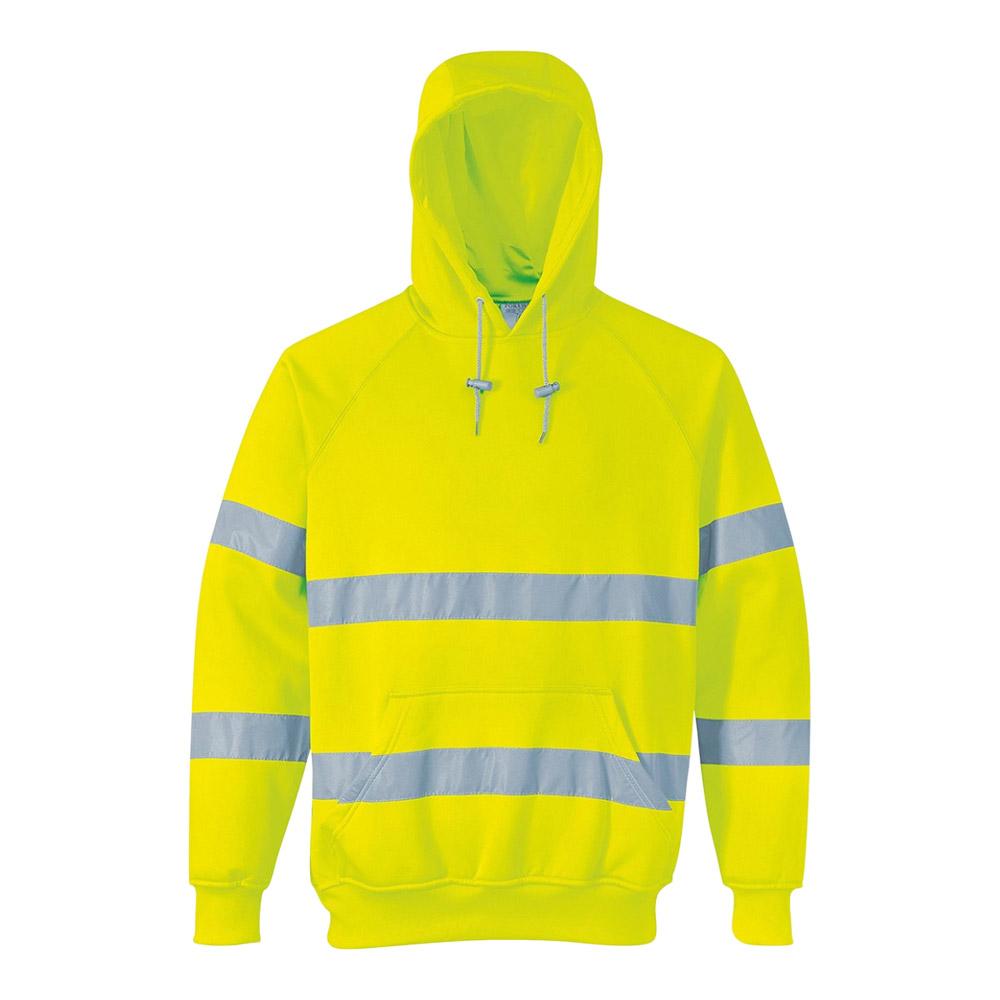 Hi Viz Hooded Sweatshirt