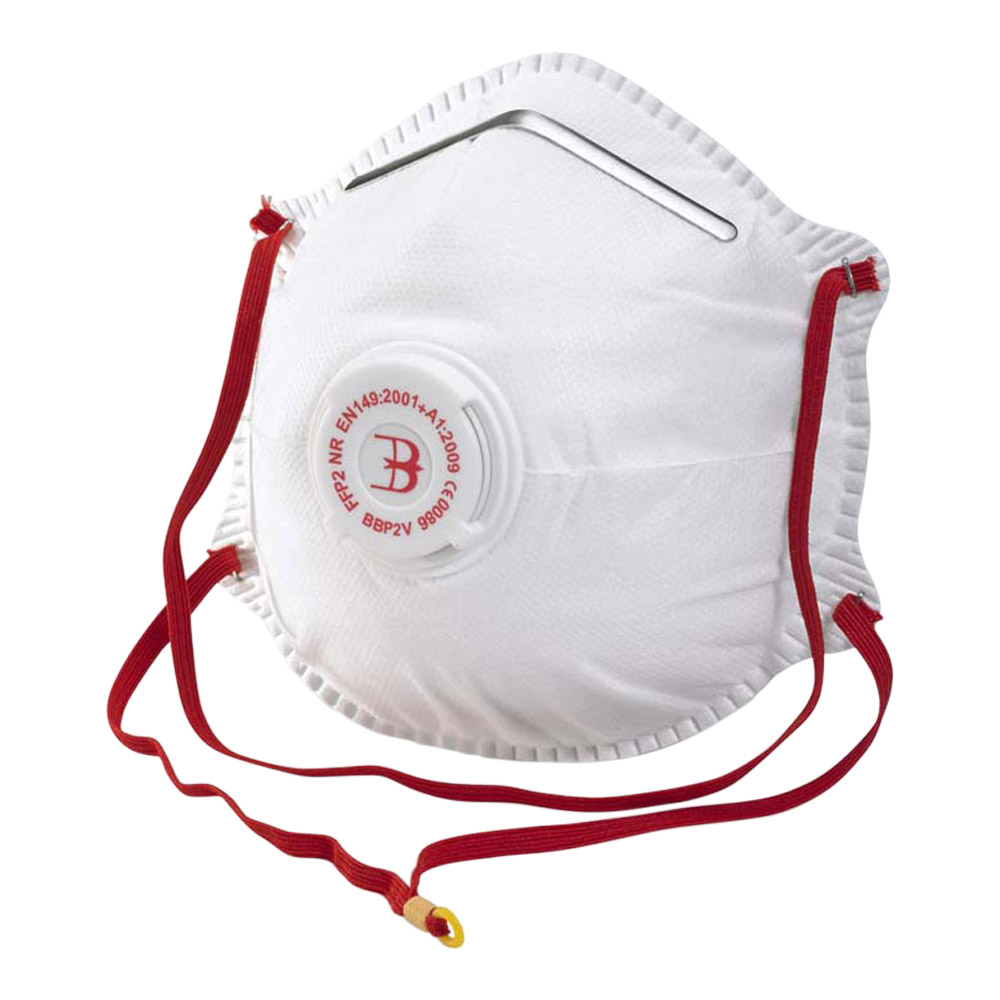 Beeswift BBP2V Valued FFP2 Respirator (Box 10)