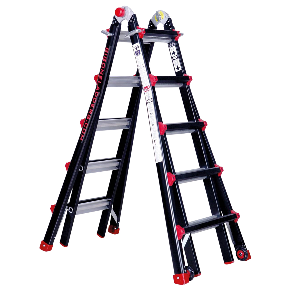 Big One Telescopic Combination Ladder 5 Tread