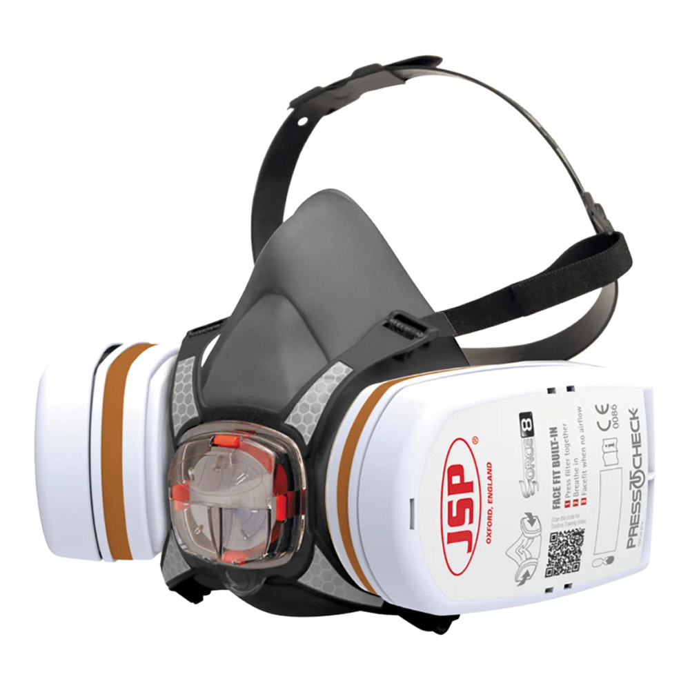 JSP BHT0B3-0L5-N00 Half Mask Respirator