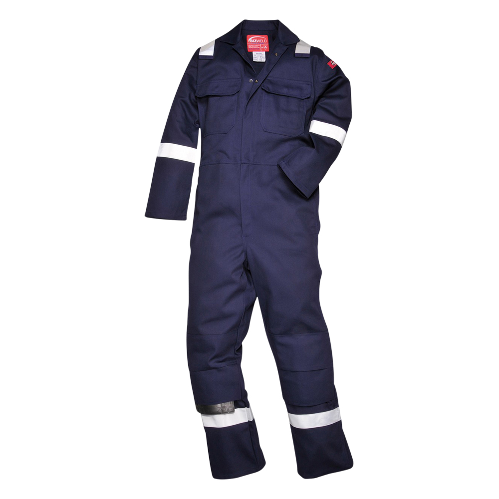 Flame Retardant Bizweld Iona Coverall (With Stripes)