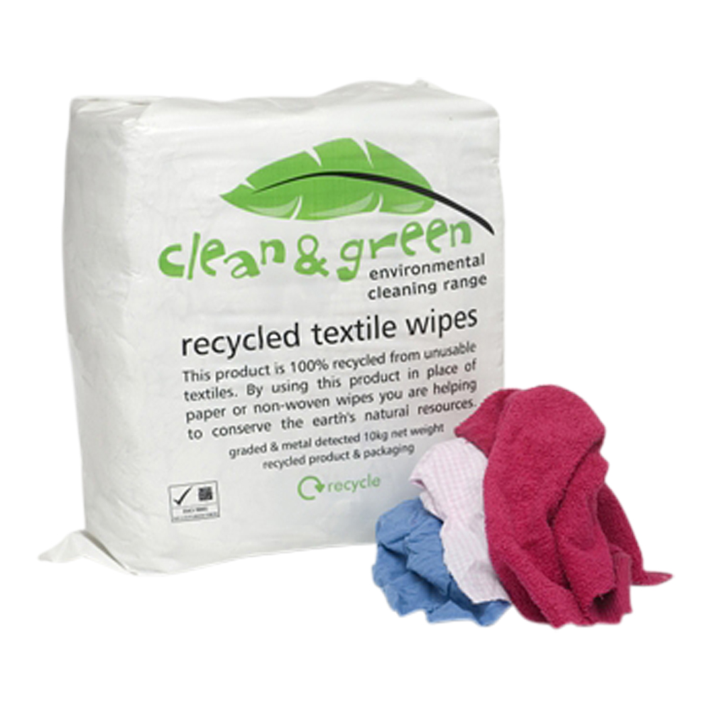 Coloured Cleaning Rag