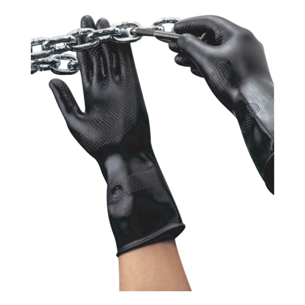 Contract Black Rubber Glove (Medium)
