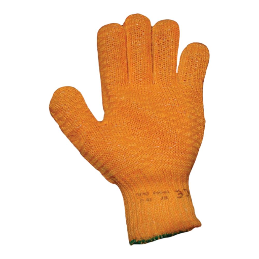 Yellow Cross Grip Glove