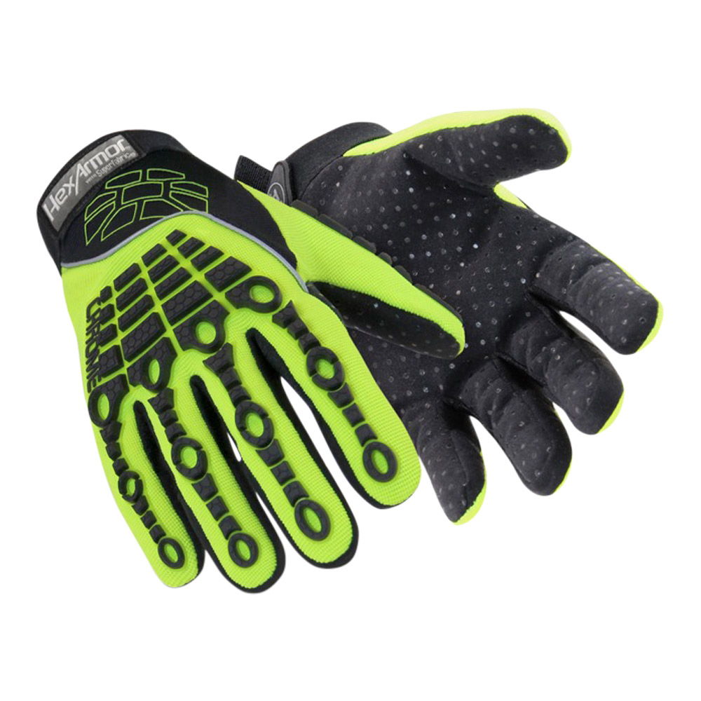 Hexarmor Hi-vis Cut 5 Glove