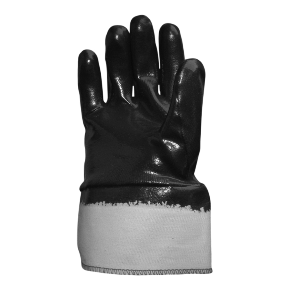 Heavyweight Nitrile Coated Glove (With Safety Cuff)