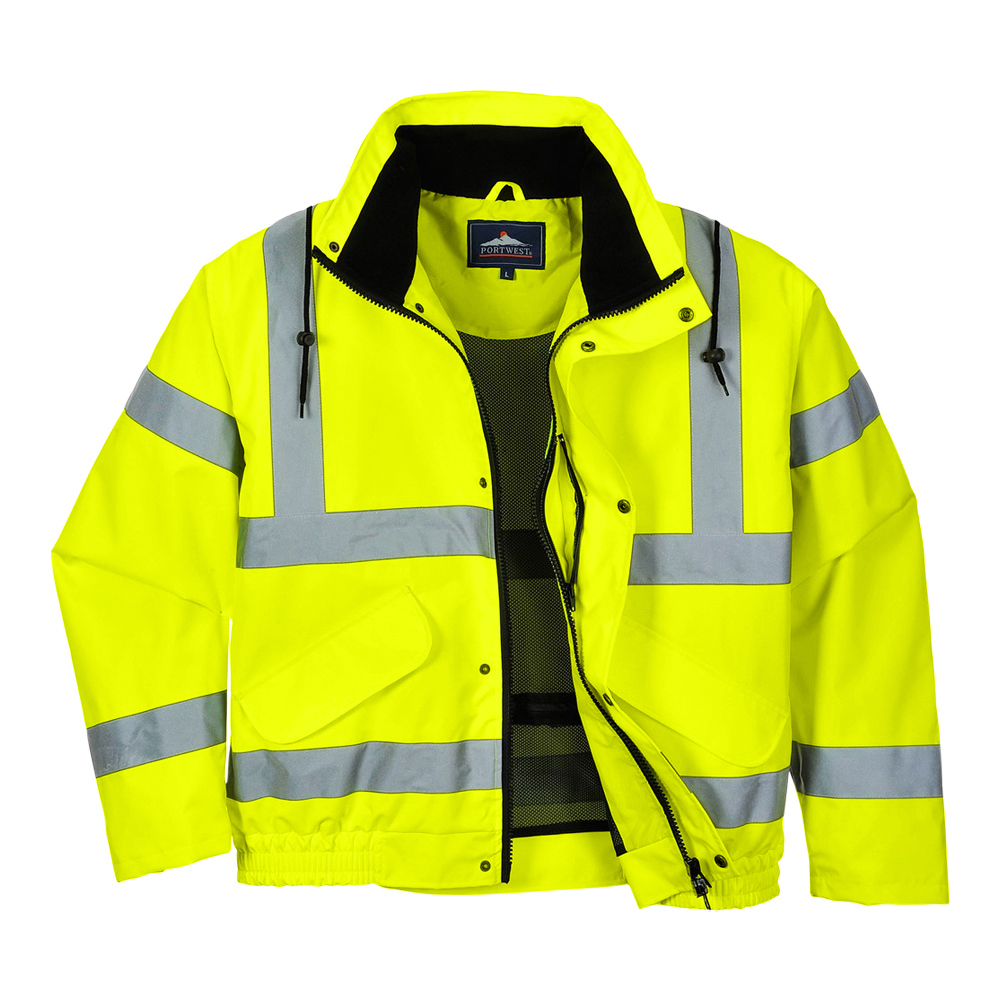 Hi-Vis Breathable Bomber Jacket