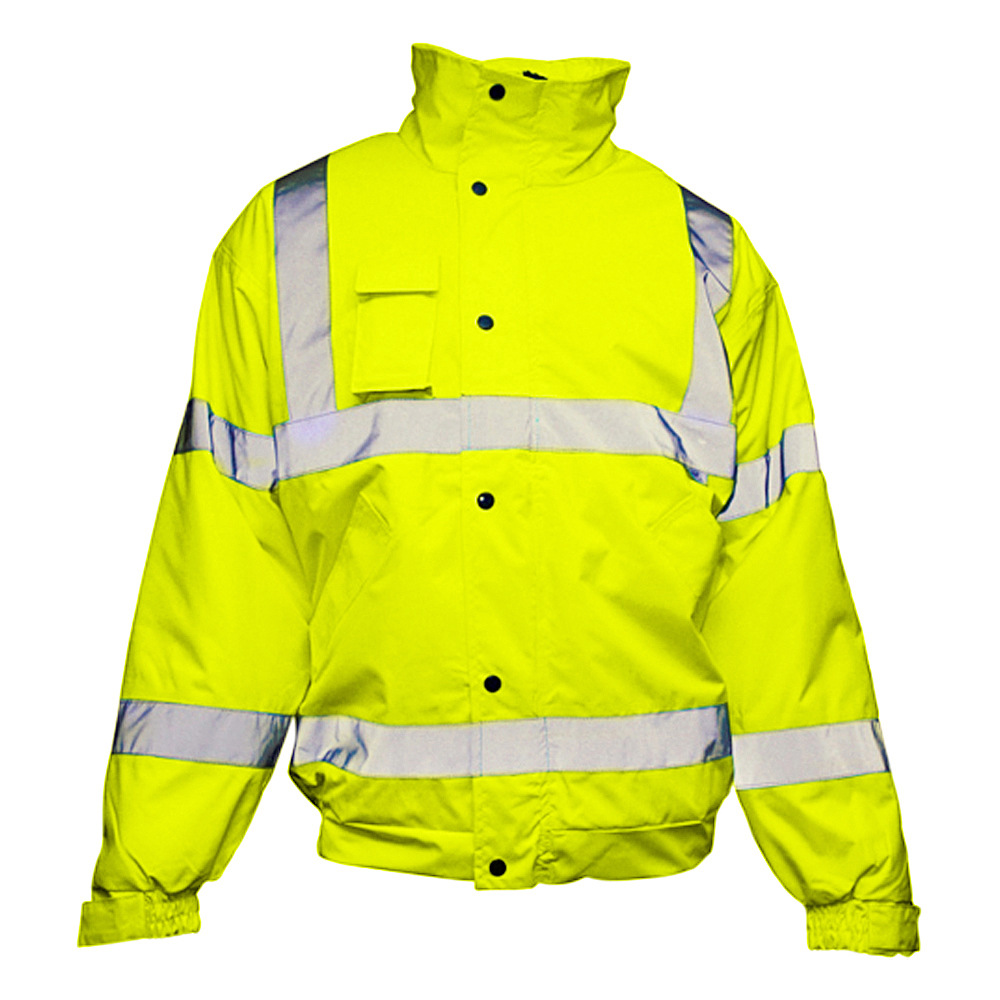 Hi-Vis Contractor Bomber Jacket