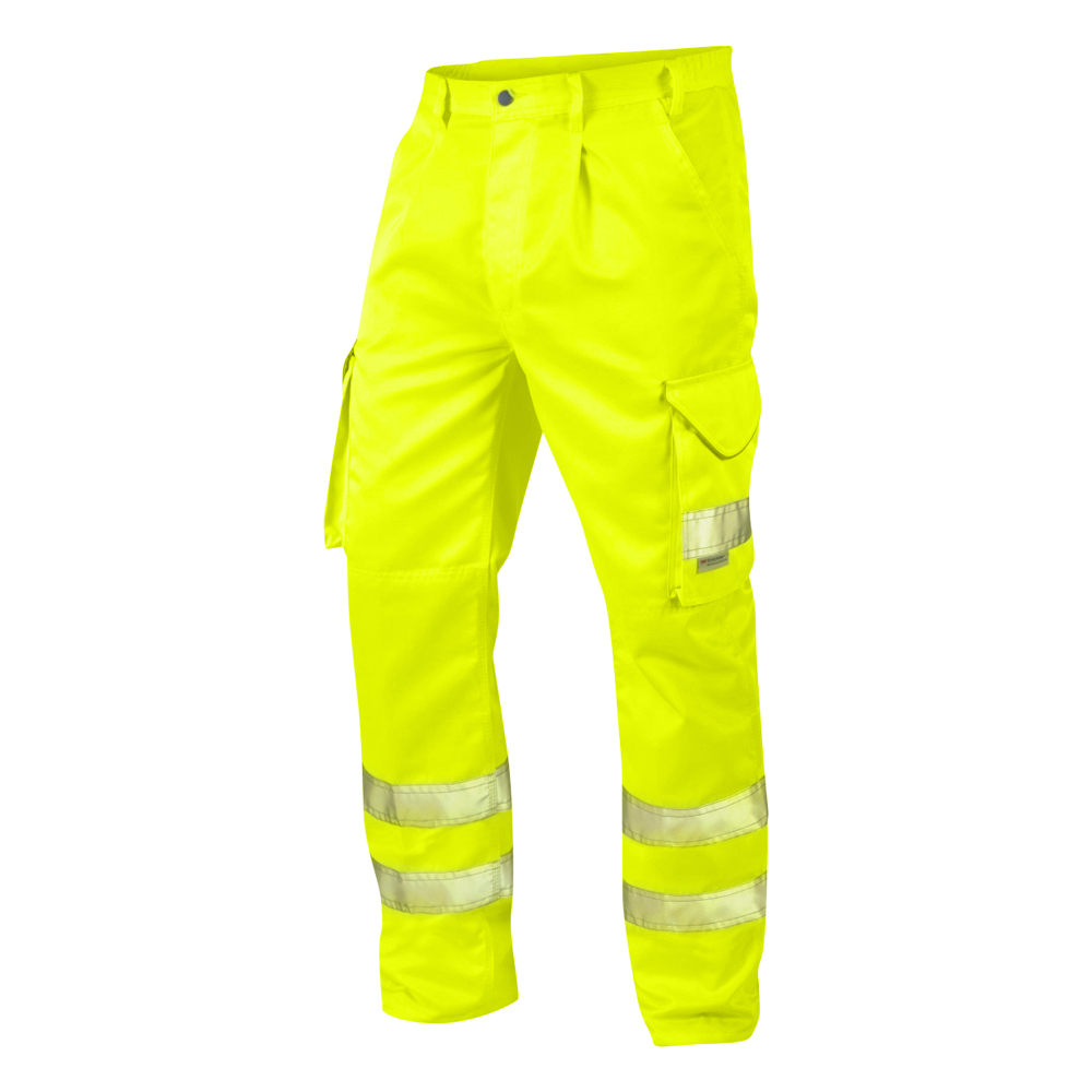 Hi-Vis Polycotton Cargo Trouser