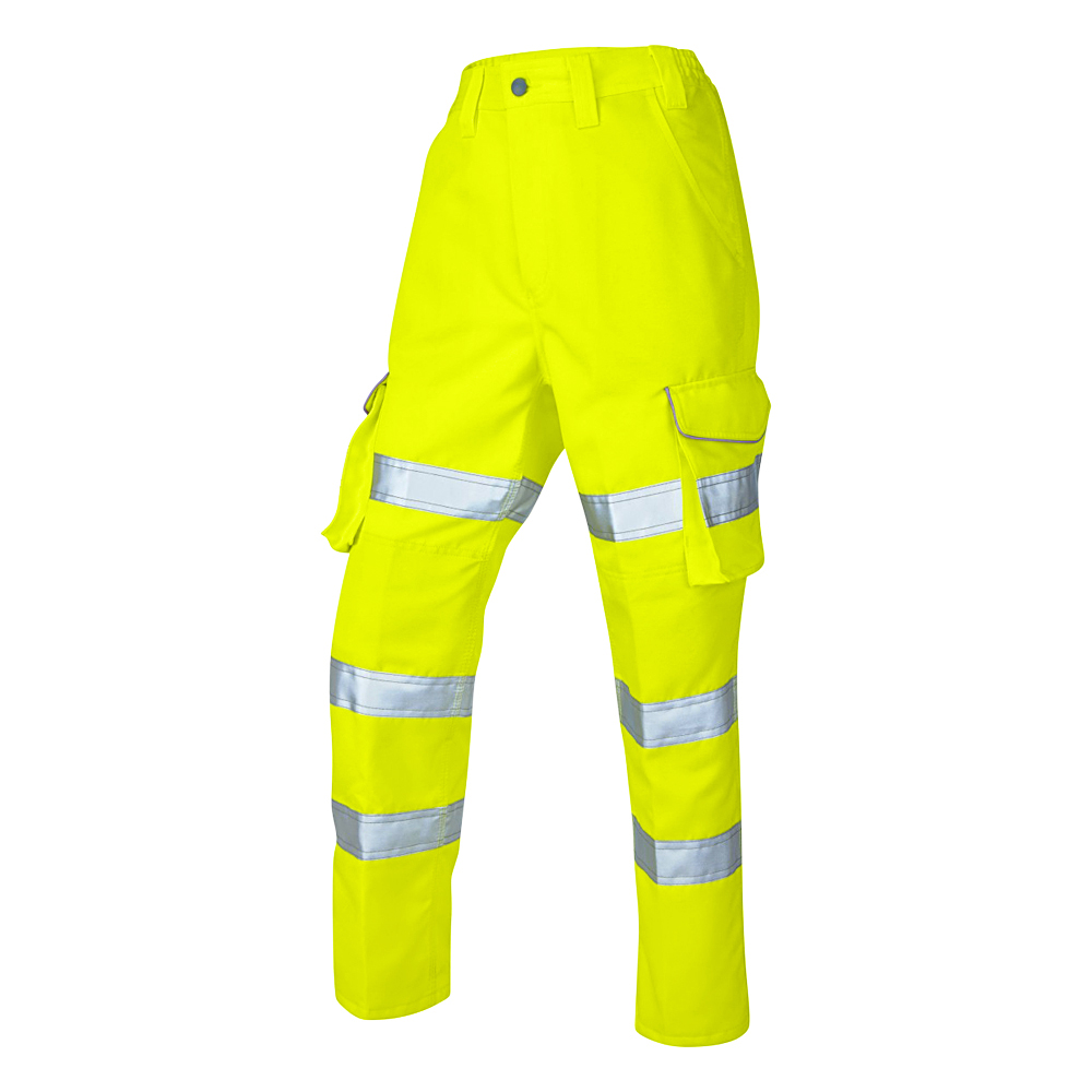 Hi-Vis Polycotton Ladies Cargo Trouser