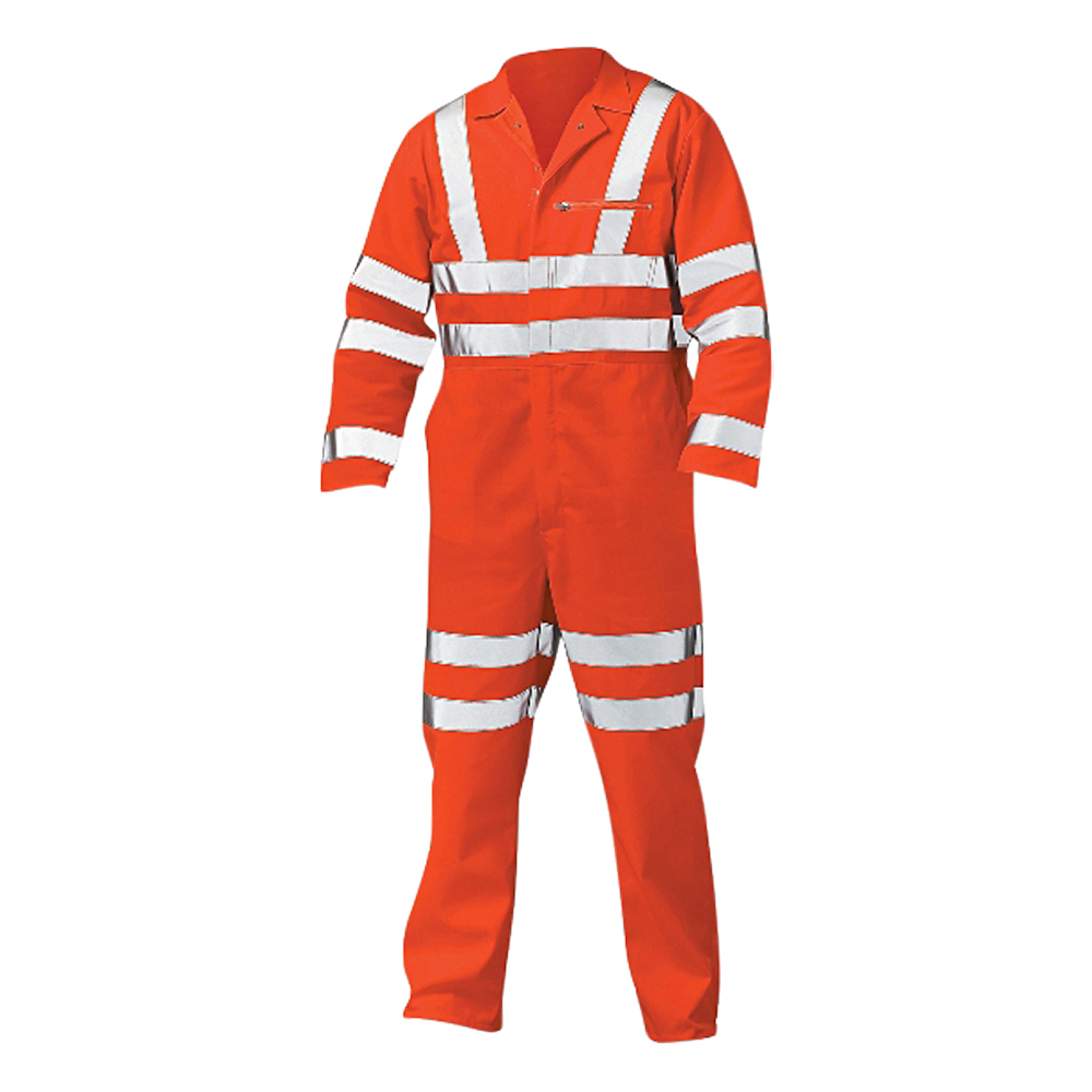 Hi-Vis Railtrack Coverall