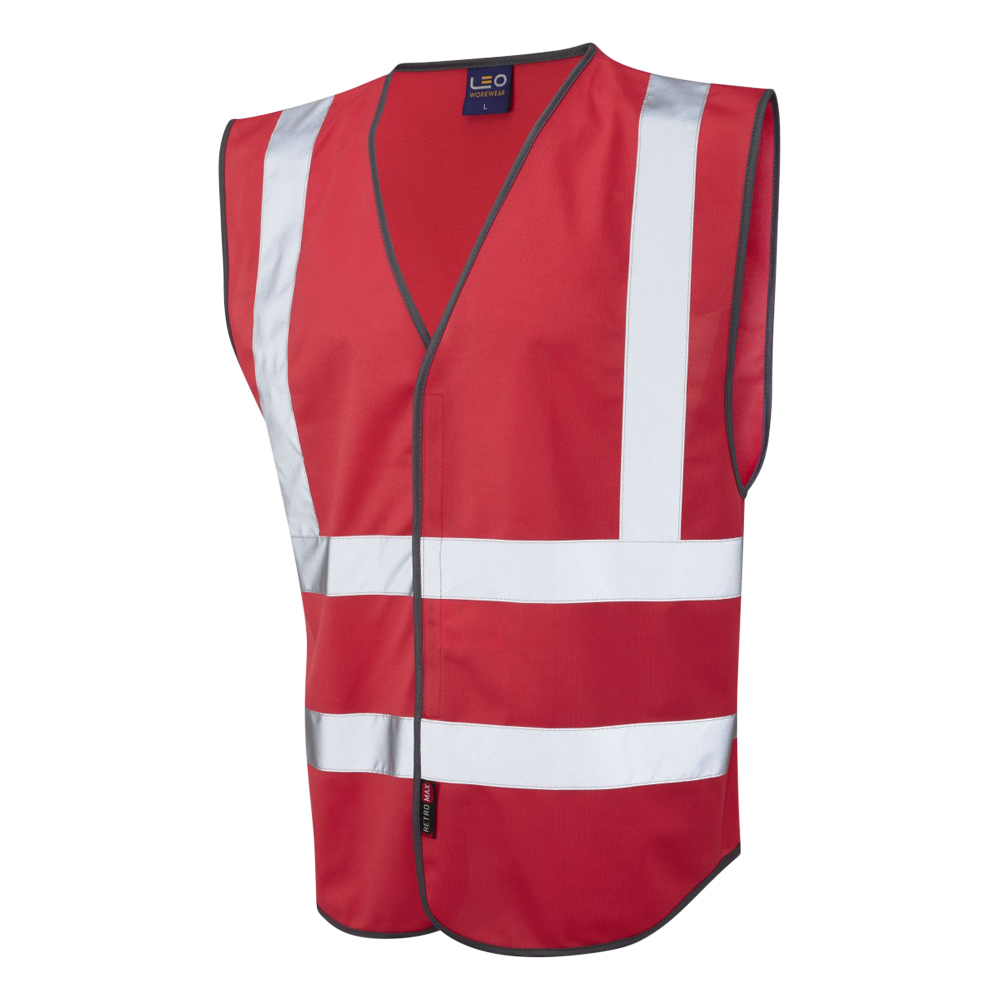 Hi-Vis Single Colour Reflective Waistcoat (Non ISO 20471)
