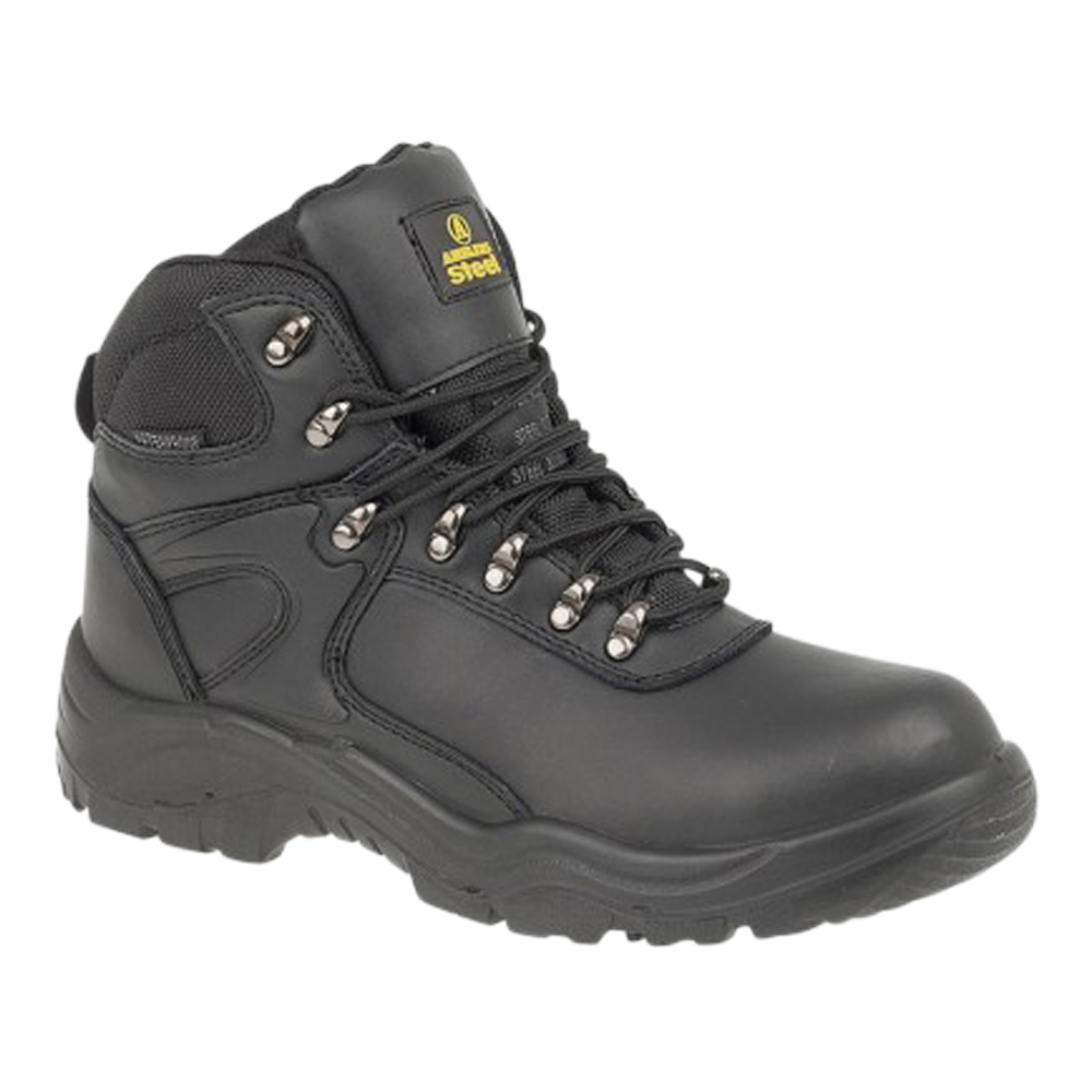 Black Hiker Waterproof Safety Boot