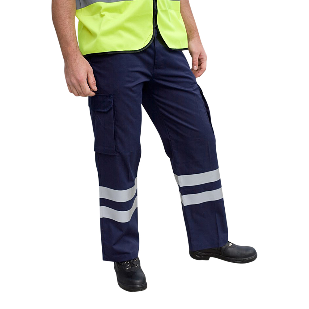 Iona Lite Waterproof Overtrouser With HV Stripes