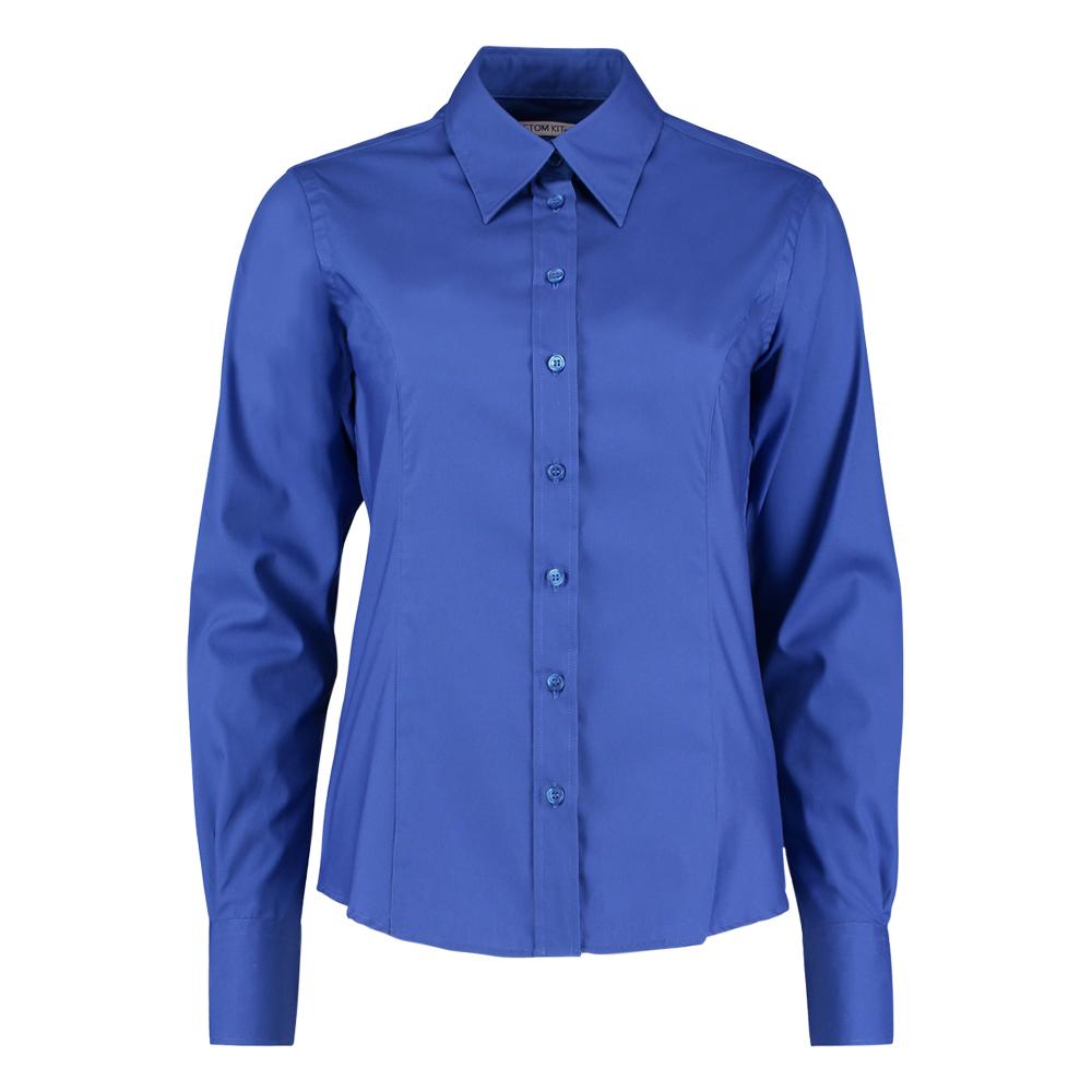 Kustom Kit Long Sleeve Ladies Blouse