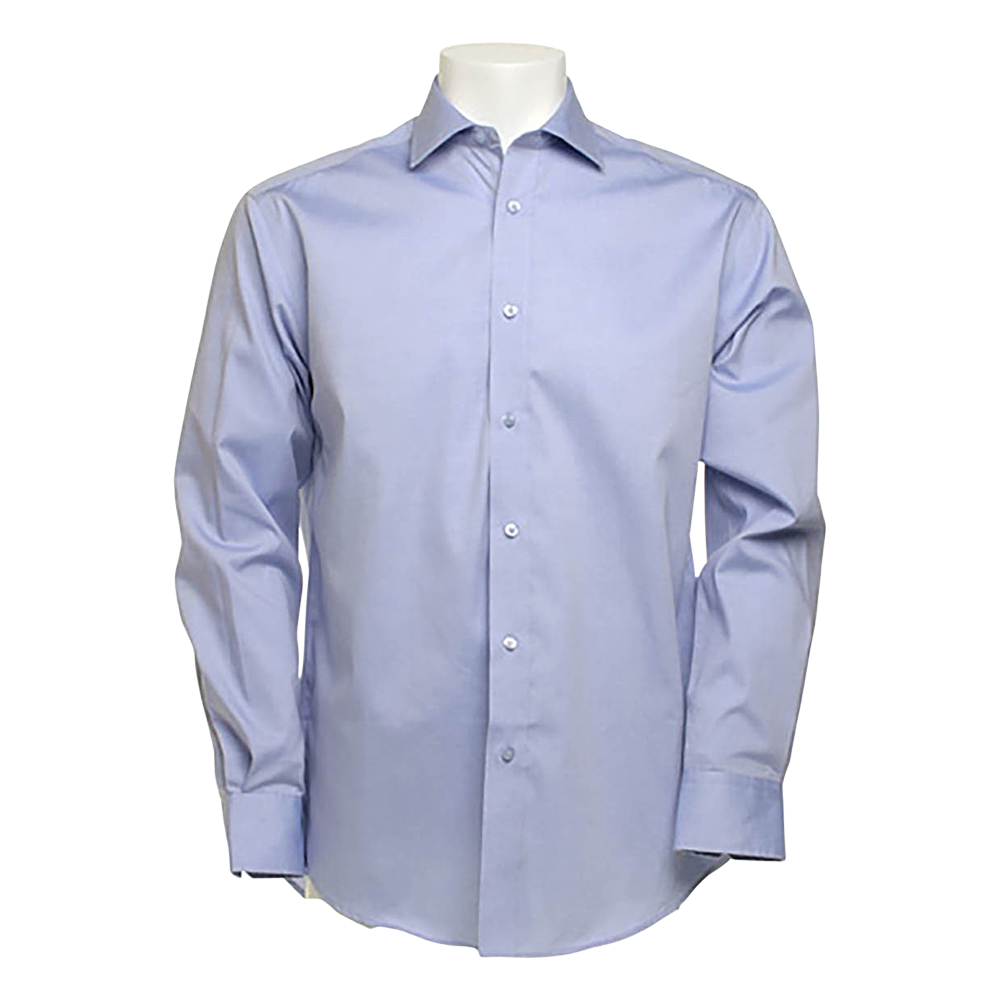 Kustom Kit Long Sleeve Superior Oxford Shirt