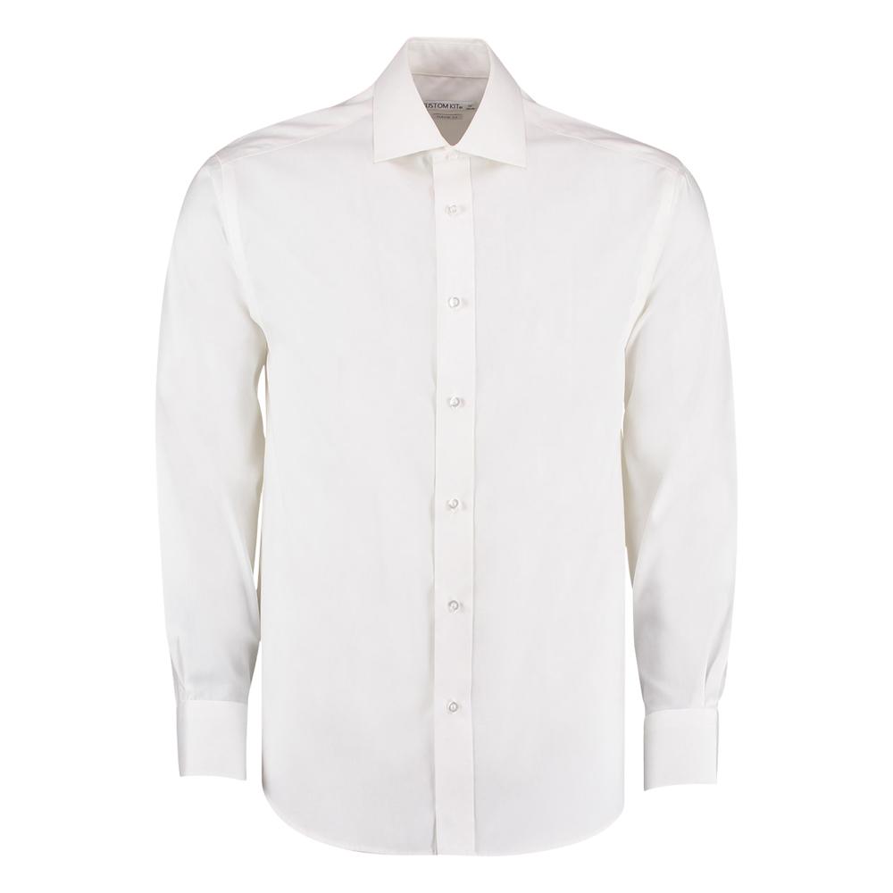 Kustom Kit Long Sleeve Superior Oxford Shirt
