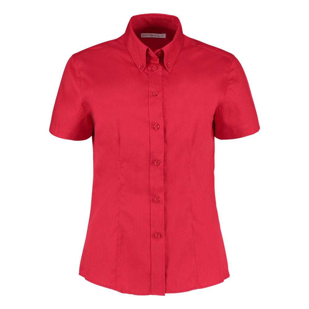 Kustom Kit Short Sleeve Ladies Blouse