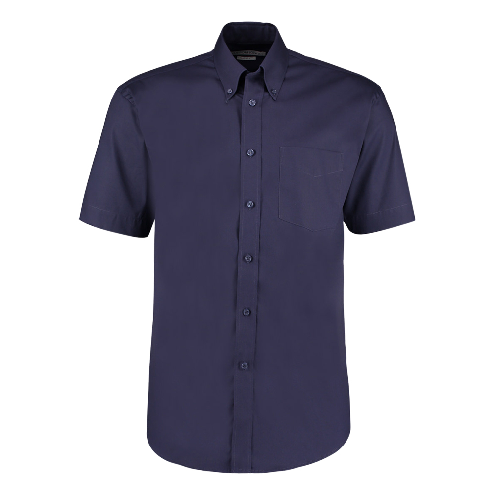 Kustom Kit Short Sleeve Oxford Shirt