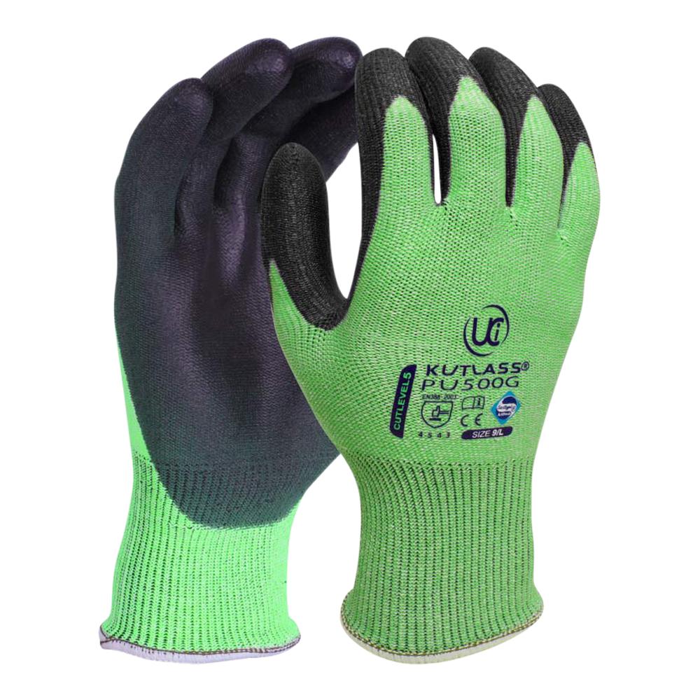 Cut Level 5 PU Coated Nylon Glove