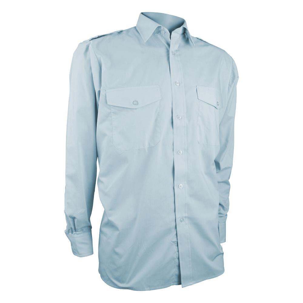 Mens Long Sleeve Pilot Shirt
