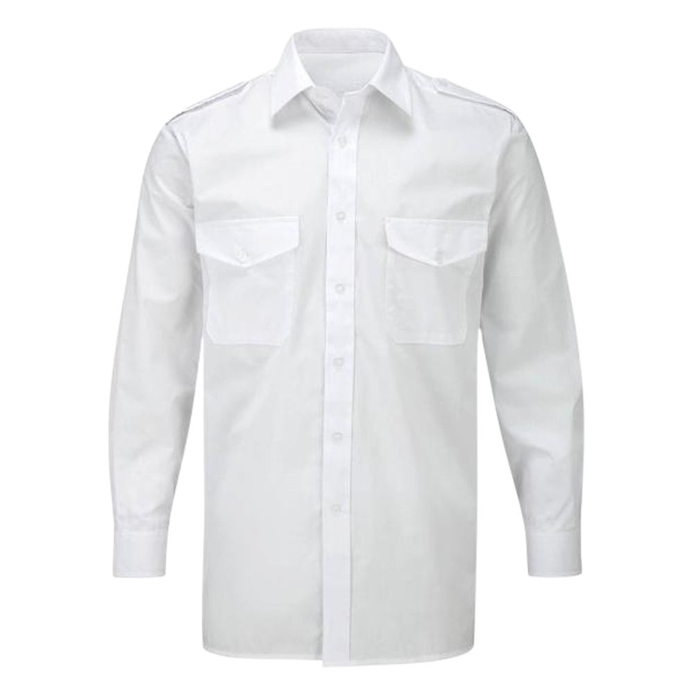 Mens Long Sleeve Pilot Shirt