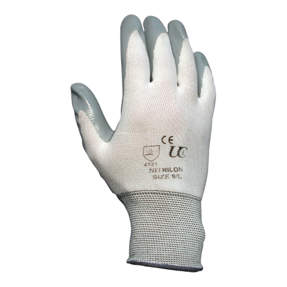 Nitrile Coated Nylon Glove (Not Food Safe)