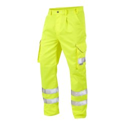 Onyx Hi-Vis Cargo Trouser with External Kneepad Pockets