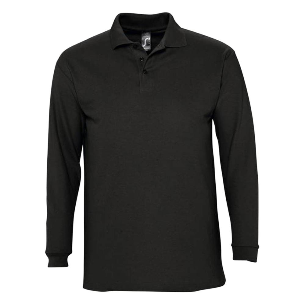 Onyx Deluxe 240G Long Sleeve Poloshirt