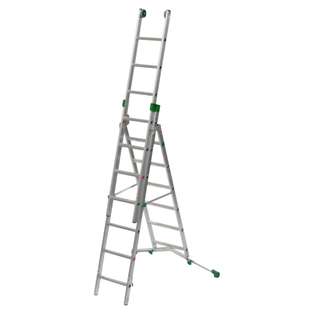Aluminium 2/3  Sections Combination Ladder
