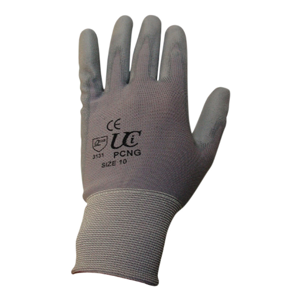 PU Coated Polyester Glove