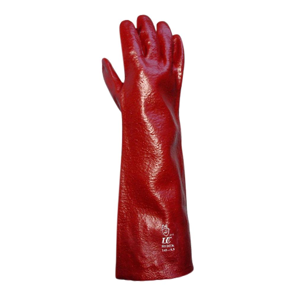 Red PVC Gauntlet (9.5 18″ Length)